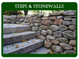 Home Steps and Stone Walls